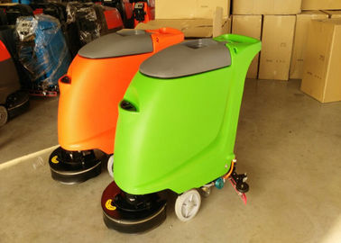 ประเทศจีน Multifunction Handle Industrial Floor Scrubber Machine Hotel Cleaning Equipment โรงงาน